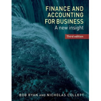 Finance and Accounting for Business: A New Insight, by Bob Ryan, 9781784992712