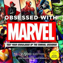 Obsessed with Marvel by Peter Sanderson, 9781785656651