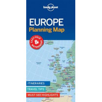 Lonely Planet Europe Planning Map by Lonely Planet, 9781786579102