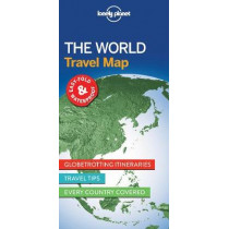 Lonely Planet The World Planning Map by Lonely Planet, 9781786579119