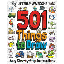 Utterly Awesome 501 Things to Draw by Barry Green, 9781787000674