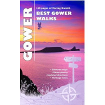 Carreg Gwalch Best Walks: Best Gower Walks by Llywarch ap Myrddin, 9781845242565