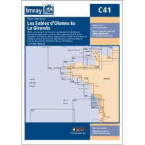 Imray Chart C41: Les Sables d'Olonne to La Gironde by Imray, 9781846238796