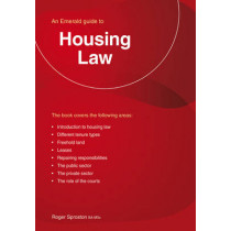 Housing Law: An Emerald Guide by Roger Sproston, 9781847166791