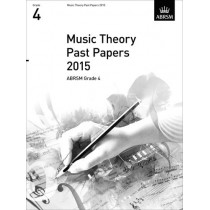 Music Theory Past Papers 2015, ABRSM Grade 4, 9781848497580