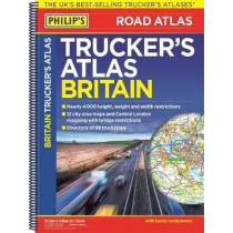 Philip's Trucker's Road Atlas of Britain, 9781849074476
