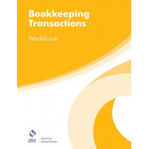 Bookkeeping Transactions Workbook by David Cox, 9781909173668