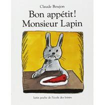 Bon appetit Monsieur Lapin by Claude Boujon, 9782211017848