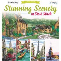 Stunning Scenery in Cross Stitch by Maria Diaz, 9786059192125