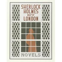 Sherlock Holmes Map of London by Aventuras Literarias, 9788494301681