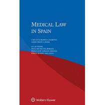 Medical Law in Spain by Carlos M. Romeo-Casabona, 9789041169297