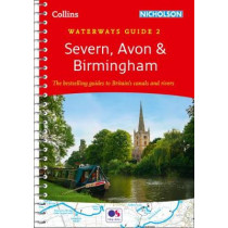 Severn, Avon & Birmingham No. 2 (Collins Nicholson Waterways Guides) by Collins Maps, 9780008258016