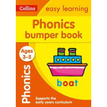 Phonics Bumper Book Ages 3-5 (Collins Easy Learning Preschool) by Collins Easy Learning, 9780008275433