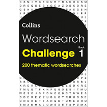 Wordsearch Challenge book 1: 200 themed wordsearch puzzles by Collins, 9780008279653