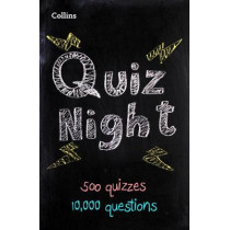 Collins Quiz Night: 10,000 original questions in 500 quizzes by Collins, 9780008290283