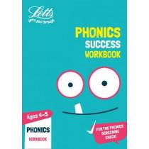 Phonics Ages 4-5 Practice Workbook (Letts KS1 Practice) by Letts KS1, 9780008294229