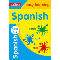 Spanish Ages 5-7 (Collins Easy Learning KS1) by Collins Easy Learning, 9780008312756
