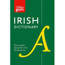 Collins Irish Gem Dictionary: The world's favourite mini dictionaries (Collins Gem) by Collins Dictionaries, 9780008320034