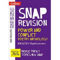 Power & Conflict Poetry Anthology: New GCSE Grade 9-1 AQA English Literature: GCSE Grade 9-1 (Collins GCSE 9-1 Snap Revision) by Collins GCSE, 9780008320102