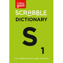 Collins Scrabble Dictionary Gem Edition: The words to play on the go by Collins Dictionaries, 9780008320188