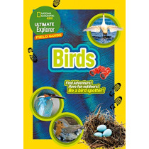 British Birds: Find Adventure! Have Fun outdoors! Be a bird spotter! (Ultimate Explorer Field Guides) by National Geographic Kids, 9780008321154