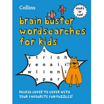 Collins Brain Buster Wordsearches for Kids by Collins, 9780008322007