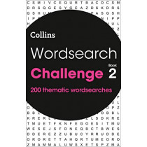 Wordsearch Challenge book 2: 200 themed wordsearch puzzles by Collins, 9780008323929