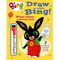 Draw With Bing! Wipe-clean Activity Book (Bing), 9780008326081