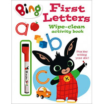 First Letters Wipe-clean activity book (Bing), 9780008326098