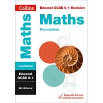 New Grade 9-1 GCSE Maths Foundation Edexcel Workbook (Collins GCSE 9-1 Revision) by Collins GCSE, 9780008326708