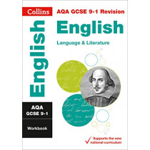 New Grade 9-1 GCSE English Language and English Literature AQA Workbook (Collins GCSE 9-1 Revision) by Collins GCSE, 9780008326715