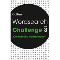 Wordsearch Challenge book 3: 200 themed wordsearch puzzles by Collins Puzzles, 9780008343866