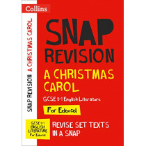 A Christmas Carol: New Grade 9-1 GCSE English Literature Edexcel Text Guide (Collins GCSE 9-1 Snap Revision) by Collins GCSE, 9780008353056
