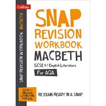 Macbeth Workbook: New GCSE Grade 9-1 English Literature AQA: GCSE Grade 9-1 (Collins GCSE 9-1 Snap Revision) by Collins GCSE, 9780008355272