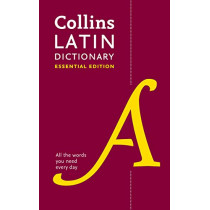 Collins Latin Essential Dictionary by Collins Dictionaries, 9780008377380