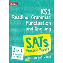 New KS1 SATs English Reading, Grammar, Punctuation and Spelling Practice Papers: for the 2020 tests (Collins KS1 SATs Practice) by Collins KS1, 9780008384487