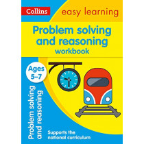 Problem Solving and Reasoning Workbook Ages 5-7 (Collins Easy Learning KS1) by Collins Easy Learning, 9780008387907
