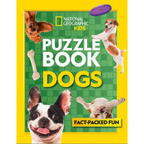 Puzzle Book Dogs: Brain-tickling quizzes, sudokus, crosswords and wordsearches by National Geographic Kids, 9780008430498