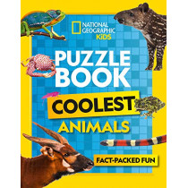 Puzzle Book Coolest Animals: Brain-tickling quizzes, sudokus, crosswords and wordsearches by National Geographic Kids, 9780008430504