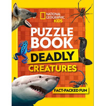 Puzzle Book Deadly Creatures: Brain-tickling quizzes, sudokus, crosswords and wordsearches by National Geographic Kids, 9780008430511