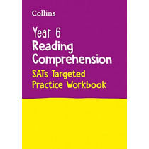 Collins KS2 SATsPractice - Year 6 Reading Comprehension SATs Targeted Practice Workbook: For the 2022 Tests by Collins KS2, 9780008467609