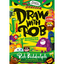 Draw With Rob: Monster Madness by Rob Biddulph, 9780008479008