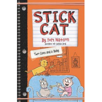 Stick Cat: Two Cats and a Baby by Tom Watson, 9780062741189