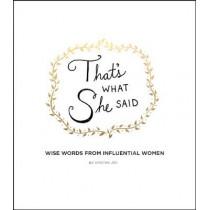 That's What She Said by Kimothy Joy, 9780062796769