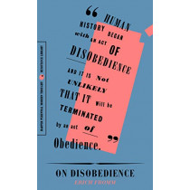 """On Disobedience: Why Freedom Means Saying """"no"""" to Power by Erich Fromm, 9780062930835"""