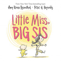 Little Miss, Big Sis Board Book by Amy Krouse Rosenthal, 9780062993441