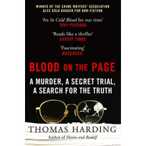 Blood on the Page by Thomas Harding, 9780099510925