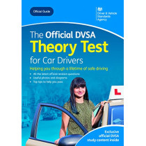 The official DVSA theory test for car drivers by Driver and Vehicle Standards Agency, 9780115536588