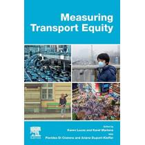 Measuring Transport Equity by Karen Lucas, 9780128148181