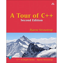 A Tour of C++ by Bjarne Stroustrup, 9780134997834